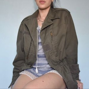 Vintage Authentic French Army Jacket